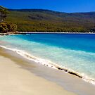 A glorious Bruny Island beach, Tasmania by Elana Bailey