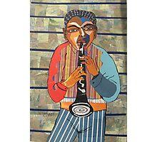 Clarinet Solo Photographic Print