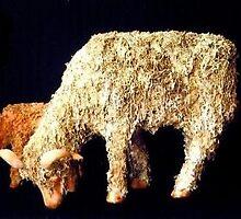 Dorset Ewe With Lamb by Cameron Hampton