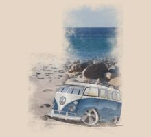Splitty Beach by Richard Yeomans