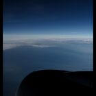 Horizon at 35,000 feet by Limajo