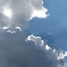 Sunlight Through Clouds by Misty Lackey