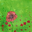 Italian Poppies #1 by Cath Sheard