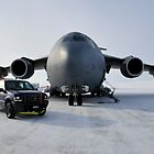 C-17 Globemaster in the arctic by atlasthetitan