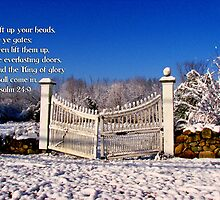 Lift up your head o ye gates by Tricia Stucenski