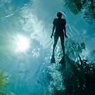 Snorkeling in The Devils Ear by Todd Krebs