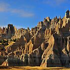 Badlands National Park / Bandit Hideout by Mark Bolen