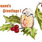 1 Little Robin - Season&#x27;s Greetings! by Maree Clarkson