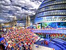 City Hall London - London Festival - HDR by Colin J Williams Photography