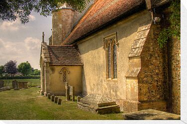 A Church - Oxfordshire, United Kingdom by Mark Richards