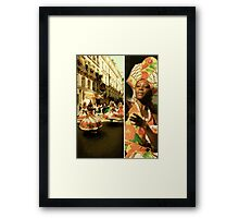 Brazilian Dancers Framed Print