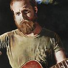 Sam Beam of Iron & Wine by Earth-Gnome