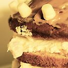 [eye candy] - Banoffee Marshmallow Cake. by annalambert