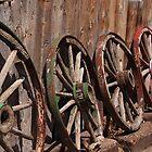 The Wagon Wheels by Gene Praag
