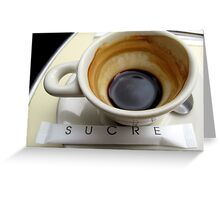Cafe Noisette Greeting Card