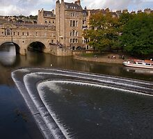 Pulteney Bridge, Bath by Paul Woloschuk