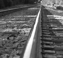Lay me down some rails by Rebecca Morrison