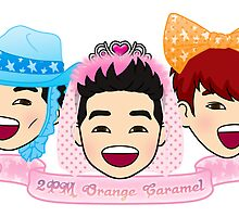 2PM Orange Caramel by funkmunky