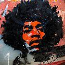 Jimmy Hendrix is Orange by Angel Benavides