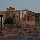 The Erectheum at dusk by Mark Prior