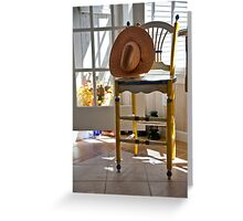 Country Chair Greeting Card