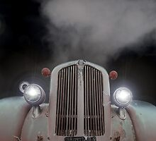 Dag Nab It-Overheated Old truck by Ron Day