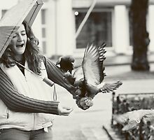 Birds attack by Dominika Aniola