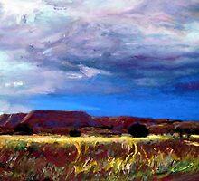 Wandering Near Taos by Cameron Hampton