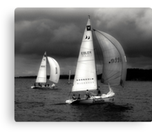 On a Following Wind Canvas Print