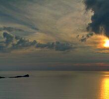 Shot of Llangennith beach by Spenser Davies