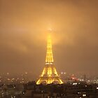 Eiffel Tower by Night- Paris by dayandnight