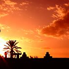 Moroccon sunset by Erisgo
