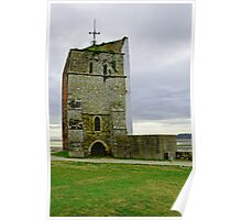 Church Tower, Remains of St Helens Church Poster