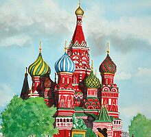Saint Basil's Cathedral by Cameron Porter