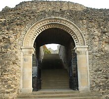 Gateway to History, Rochester Castle by Dave Godden