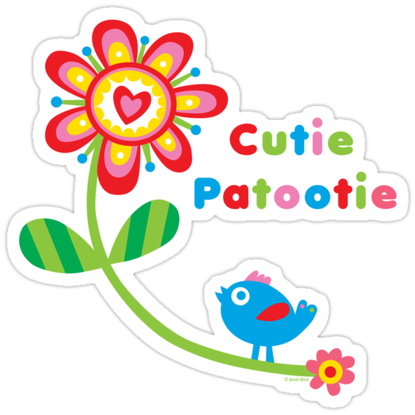 Cutie Patootie - on lights by Andi Bird