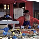 St. Germaine Vendor, Paris by pmreed