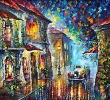 1930 - original art oil painting by Leonid Afremov by Leonid  Afremov