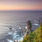 Sunset over the Cantabrian Sea by Ben Collins