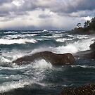 Turbulent Sea, Lake Superior Ontario Canada by Eros Fiacconi (Sooboy)