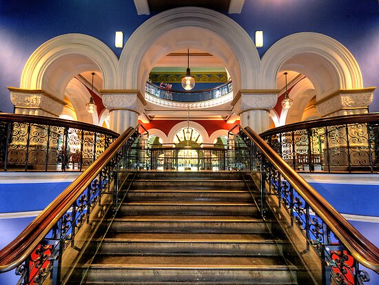 Victorian Majesty- The Queen Victoria Building , Sydney Australia by Philip Johnson