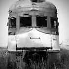 Old Locomotive by Jim Haley