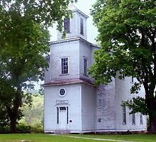church built in 1854 located in WV by fotoflossy