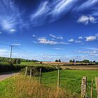 Avington Landscape, near Winchester by NeilAlderney