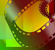 Clip art of film  roll by tillydesign