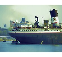 Great Lakes Freighter - Mississagi Photographic Print