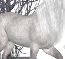 Moonglow .. appaloosa stallion Sticker