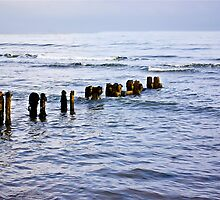Sandsend Seascape by Trevor Kersley