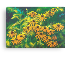 Greetings Of September Canvas Print