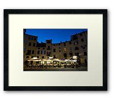 Italie - Toscane - Lucques (Lucca) Framed Print